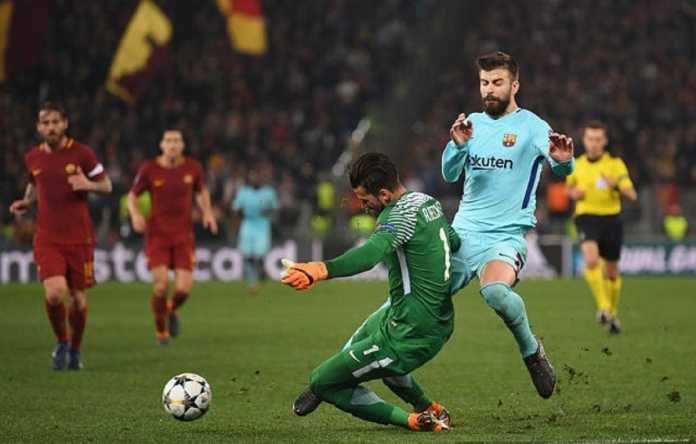 Kiper AS Roma, Alisson Becker, akui kualitas semua tim yang jadi semifinalis Liga Champions sama.