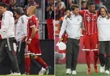Arjen Robben dan Jerome Boateng, Bayern Munchen vs Real Madrid
