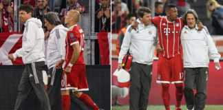 Arjen Robben dan Jerome Boateng, Bayern Munchen vs Real Madrid