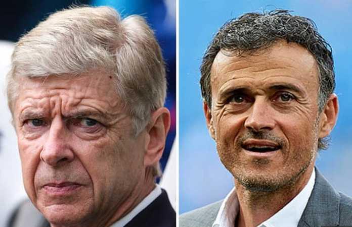 Arsenal kabarnya telah lakukan pembicaraan dengan Luis Enrique terkait kemungkinan pelatih itu gantikan Arsene Wenger musim depan.