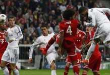Bayern Munchen PD abis bakal kalahkan Real Madrid dan melaju ke final Liga Champions di Kiev.
