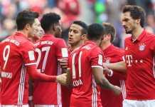 Bayern Munchen vs Real Madrid, Liga Champions