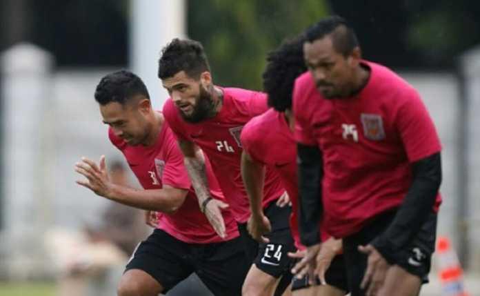 Usai tandang ke markas Persija, Borneo FC lanjutkan persiapan hadapi Persib Bandung di Jakarta.