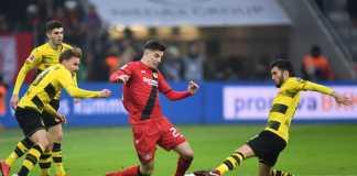 Borussia Dortmund vs Bayer Leverkusen, Liga Jerman