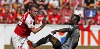 Calon pemain Liverpool, Naby Keita, terhitung sudah empat kali dikartu merah, terakhir saat ia membela RV Leipzig bermain kontra Mainz akhir pekan kemarin.