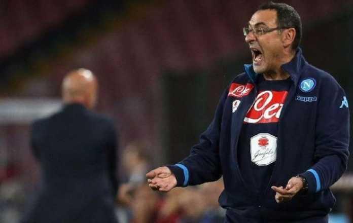 Chelsea bidik pelatih Napoli, Maurizio Sarri, sebagai pengganti Antonio Conte.