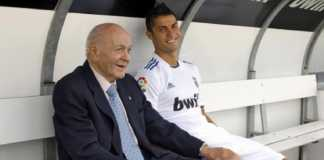 Cristiano Ronaldo dinobatkan sebagai penerus legenda Real Madrid, Alfredo Di Stefano.