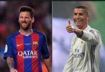 Cristiano Ronaldo kabarnya geli dengan penampilan Lionel Messi, usai Barcelona kalahkan Sevilla di final Copa del Rey, Minggu (22/4).