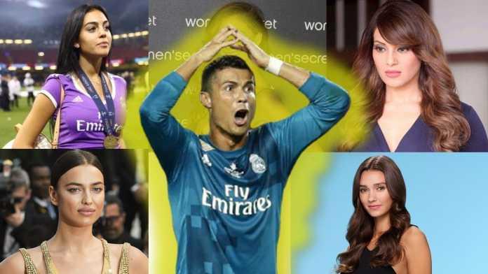 Cristiano Ronaldo dan para kekasihnya