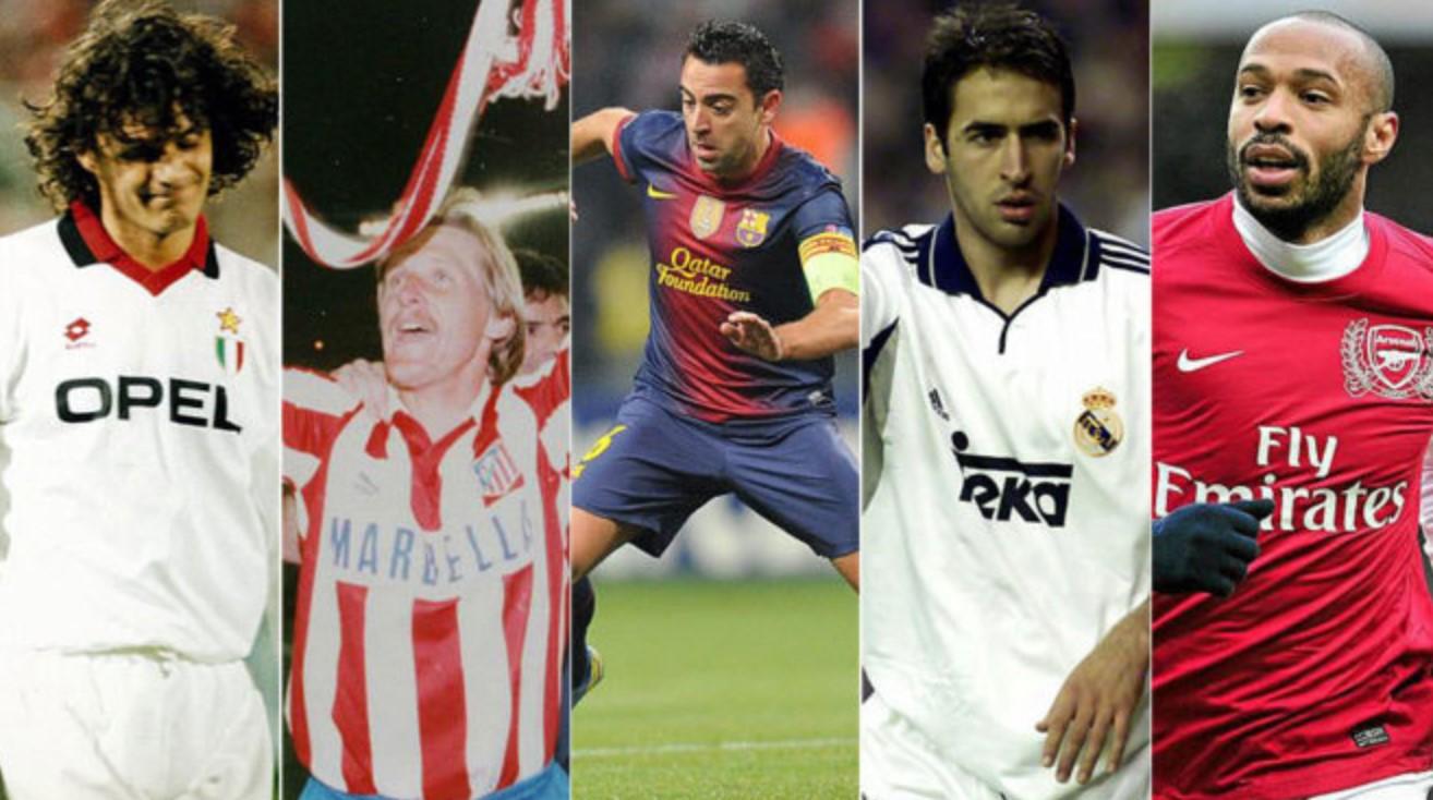 20 Legenda Sepakbola Yang Tak Pernah Menang Ballon D