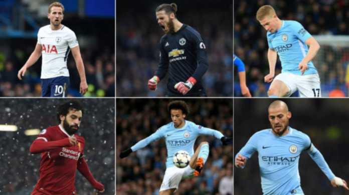 Daftar Nominasi Pemain Terbaik Premier League Musim 2017-2018