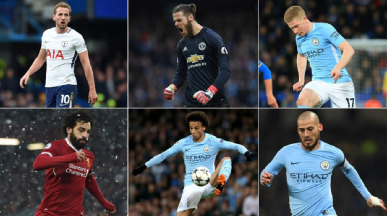 Daftar Nominasi Pemain Terbaik Liga Inggris 2018 Gilabola