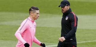Pelatih Diego Simeone akui Fernando Torres tetap legenda bagi Atletico Madrid, walau pemain itu batal akhiri karirnya di Wanda Metropolitano.