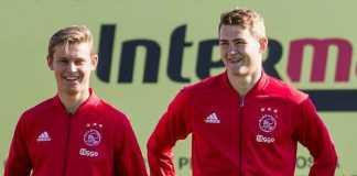 Barcelona dekati Ajax Amsterdam demi datangkan dua pemain mudanya, Matthijs de Ligt dan Frenkie de Jong.