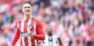 Fernando Torres bukukan gol ke-100 La Liga bersama Atletico Madrid, jelang tinggalkan klub tersebut akhir musim ini.