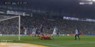 Gol Tangan Tuhan Iago Aspas, Celta Vigo vs Barcelona