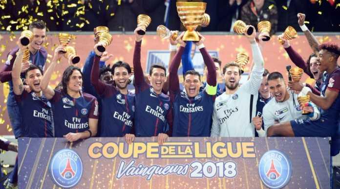 Hasil PSG vs Monaco, Coupe de la Ligue 2018