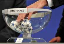 Undian Semifinal Liga Champions berlangsung Jumat petang pukul 19.00 WIB di markas UEFA, Nyon, Swiss.