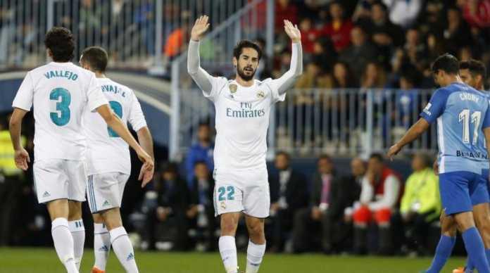 Isco Alarcon, Malaga vs Real Madrid, Liga Spanyol