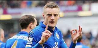 Jamie Vardy bukukan rekor tak menyenangkan bersama Leicester City.