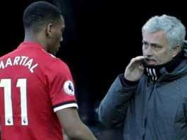 Jose Mourinho ingin Anthony Martial segera tinggalkan Manchester United.
