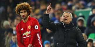 Jose Mourinho yakin Marouane Fellaini bertahan di Manchester United musim depan, setelah ia bukukan gol kemenangan MU di laga kontra Arsenal, Minggu (29/4) malam WIB..
