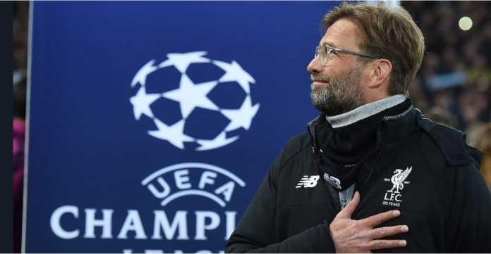 Respons Jurgen Klopp dalam salah satu pertandingan Liverpool di ajang Liga Champions.
