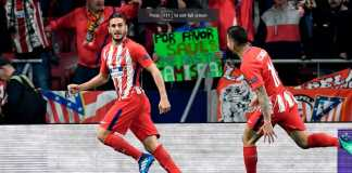 Koke, Atletico Madrid vs Sporting CP, Liga Europa