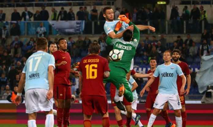 Lazio vs AS Roma, Liga Italia