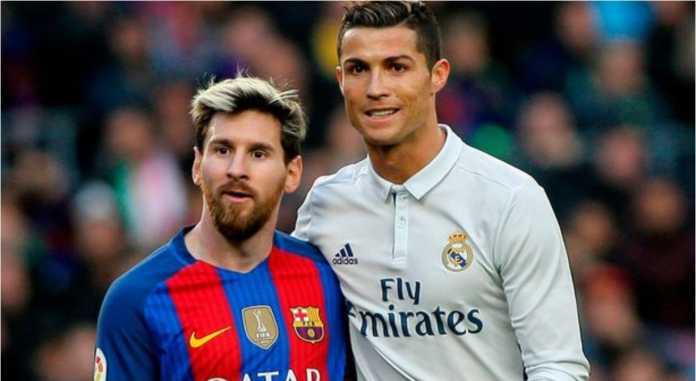 Cristiano Ronaldo unggul 22 gol di atas Lionel Messi dalam total perolehan gol-gol sepanjang sejarah di liga-liga Eropa. Ronaldo 396, Messi 374.