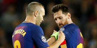 Lionel Messi akan gantikan Andres Iniesta sebagai kapten Barcelona mulai musim depan.