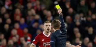 Liverpool bakal tandang ke Manchester City di leg ke dua perempat final pekan depan, tanpa sang kapten Jordan Henderson yang menerima kartu kuning di leg pertama dinihari tadi.