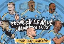 Manchester City Juara Liga Inggris Musim 2017-2018