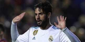 Berita Liga Inggris - Manchester City ternyata tak masukkan nama bintang Real Madrid, Isco, dalam daftar bidikan transfer mereka musim panas mendatang.