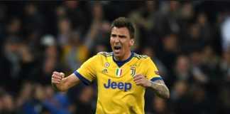 Juventus memang tersingkir, tapi bintangnya Mario Mandzukic berhasil catatkan rekor di kandang Real Madrid di leg ke dua perempat final Liga Champions, Kamis (12/4) dinihari tadi.