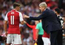 Bintang Arsenal, Mesut Ozil, mengaku bangga karena pernah dilatih Arsene Wenger.
