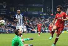 Lewat satu golnya ke gawang West Bromwich Albion, Mohamed Salah samakan rekor gol terbanyak Liga Premier, saat Liverpool bermain imbang 2-2 di laga tersebut.