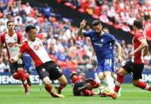 Olivier Giroud, Chelsea vs Southampton