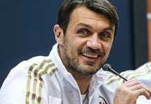 Legenda AC Milan, Paolo Maldini, tak kesampingkan peluang melatih Timnas Italia.