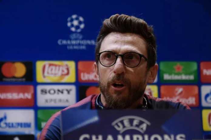 Pelatih AS Roma, Eusebio Di Francesco, menilai laga leg kedua perempat final Liga Champions melawan Barcelona lebih penting dari derby Roma kontra Lazio akhir pekan ini.