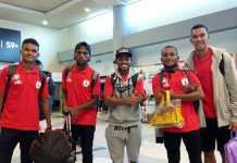 Setelah sebelumnya lakukan persiapan di Surabaya, Persipura Jayapura lanjutkan latihan mereka di Palembang mulai Kamis (12/4), jelang pertandingan kontra Sriwijaya FC pada Sabtu (14/4) mendatang.
