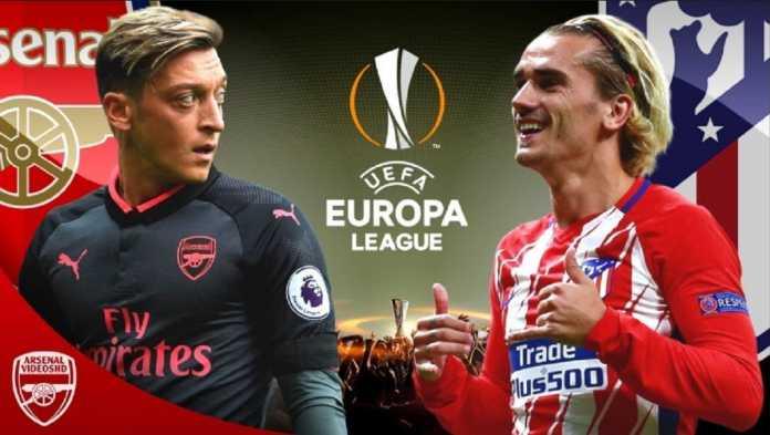 Arsenal akan menjamu Atletico Madrid di leg pertama semifinal Liga Europa, Jumat (27/4) dinihari WIB.