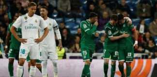 Real Madrid menjamu Leganes di pekan ke-34 La Liga, Sabtu (28/4) malam WIB.