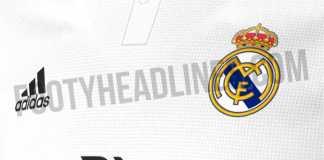 Jersey terbaru Real Madrid untuk musim 2018-2019 terdiri dari warna sederhana, hitam dan putih.