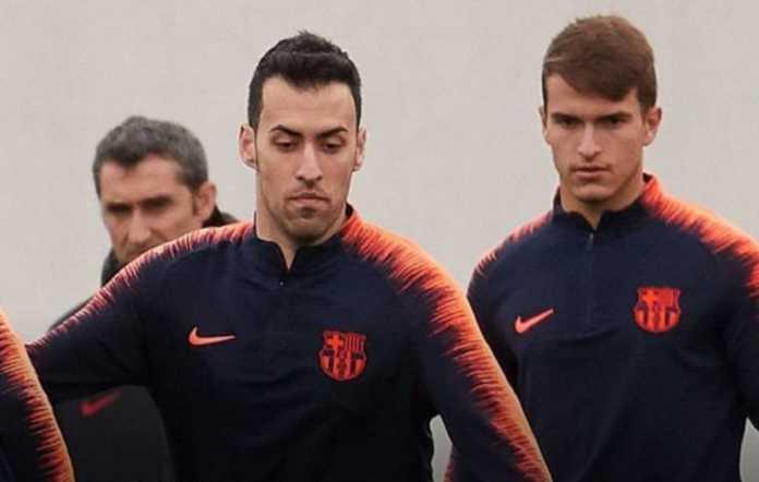 Sergio Busquets dipastikan akan jadi starter saat Barcelona menjamu Valencia, Sabtu (14/4) malam, walau dengan painkiller.