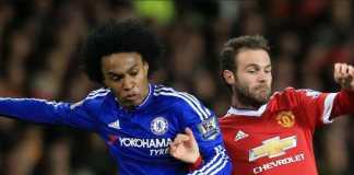 Pemain Chelsea, Wiilian, dikabarkan gantikan Juan Mata yang akan segera tinggalkan Manchester United.