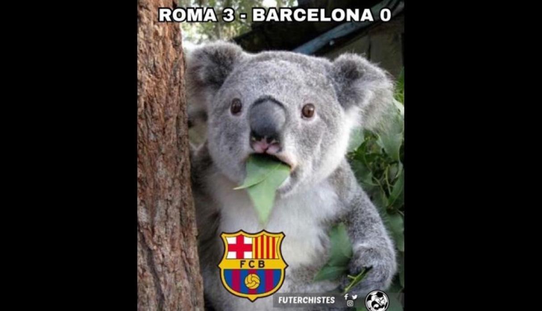 Barcelona Terjungkal, Meme Lucu Pun Beredar - Gilabola.com