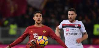 Kostas Manolas cedera saat membela AS Roma bermain di kandang Cagliari, Senin (7/5) dinihari tadi, tepat ketika Roma akan menjamu Juventus akhir pekan depan.