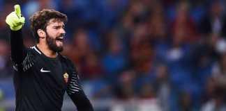 AS Roma tak akan lepas kiper Alisson Becker di bawah Rp1,4 triliun, saat pemain asal Brasil ini jadi incaran Liverpool dan Real Madrid.