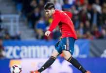 Alvaro Morata dicoret dari Timnas Spanyol yang akan berangkat ke Piala Dunia Rusia musim panas mendatang.